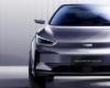 几何旗下纯电动跨界SUV几何C首发亮相