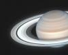 NASA和ESA的哈勃太空望远镜捕捉到了土星北半球的夏日美景