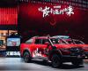 长城炮越野皮卡柴油8AT车型在成都车展上市