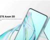 中兴Axon305G手机带屏下摄像头全球上市