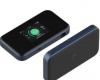 中兴通讯的便携式5GWiFi6路由器带有触摸屏和以太网端口